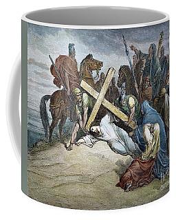 Jesus At Calvary Coffee Mug
