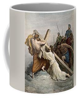 Jesus With Cross Coffee Mug