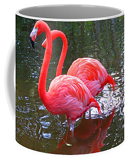 Double Flamingo Coffee Mug