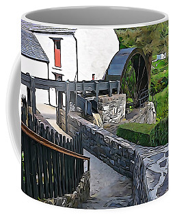 Coffee Mug featuring the photograph Down To The Mill by Charlie and Norma Brock