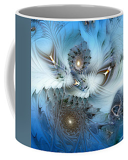 Coffee Mug featuring the digital art Dream Journey by Casey Kotas