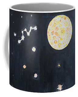 Coffee Mug featuring the painting Dream by Sonali Gangane