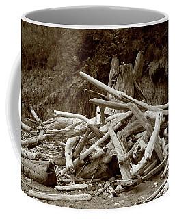 Driftwood Pile San Juan Coffee Mug