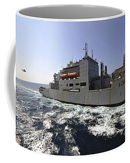 Dry Cargoammunition Ship Usns Richard Coffee Mug