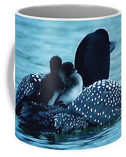 Duck Family Joy In The Lake  Coffee Mug