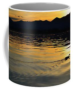 Duck Swimming Coffee Mug