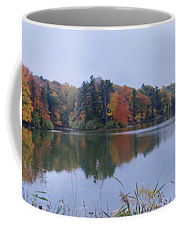 Coffee Mug featuring the photograph Durand Lake by William Norton