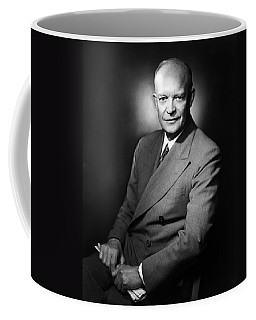 Coffee Mug featuring the photograph Dwight Eisenhower - President Of The United States Of America by International  Images