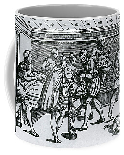Earliest Depiction Of Craniotomy Coffee Mug