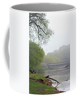 Coffee Mug featuring the photograph Early Spring Morning Fog by Kay Novy
