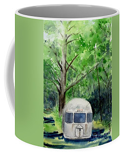 Coffee Mug featuring the painting Early Summer At The Geddes Farm 1 --ann Arbor  Michigan by Yoshiko Mishina