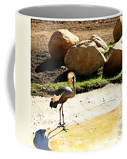 East African Crowned Crane Coffee Mug