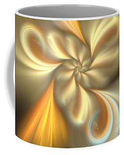 Ecru Coffee Mug by Kim Sy Ok