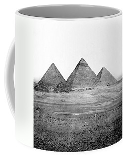 Egyptian Pyramids - C 1901 Coffee Mug by International  Images