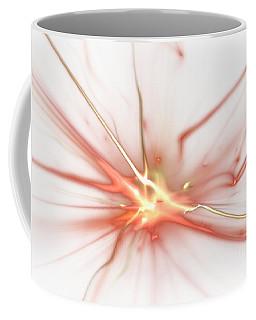 Coffee Mug featuring the digital art Electric by Kim Sy Ok