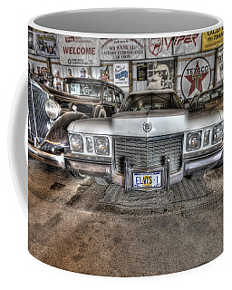 Elvis' Cadillac Coffee Mug