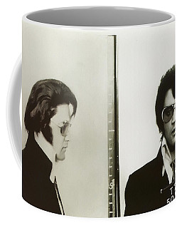 Elvis Mugshot 1970 Coffee Mug