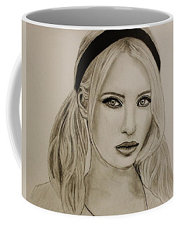 Emily Coffee Mug by Michael Cross