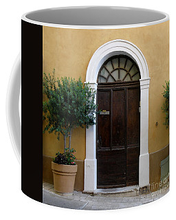 Coffee Mug featuring the photograph Enchanting Door by Lainie Wrightson