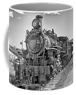 Coffee Mug featuring the photograph Engine 593 by Eunice Gibb