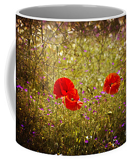 English Summer Meadow. Coffee Mug