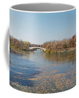 Coffee Mug featuring the photograph Erie Canal Panorama by William Norton