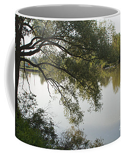Coffee Mug featuring the photograph Erie Canal Turning Basin by William Norton