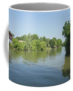 Coffee Mug featuring the photograph Erie Canal by William Norton
