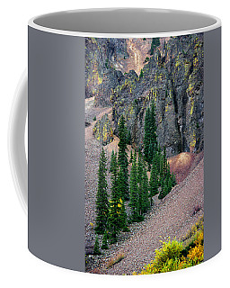 Eureka Coffee Mug by Vicki Pelham