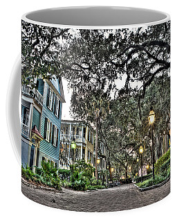 Evening Campus Stroll Coffee Mug