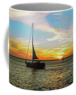 Evening Sailing Coffee Mug