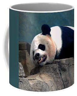 Exhausted Panda Coffee Mug
