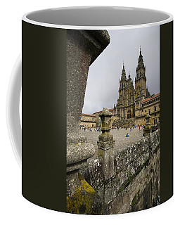 Exterior View Of A Gothic Cathedral Coffee Mug