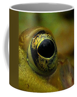 Eye Of Frog Coffee Mug