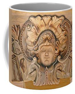 Face On The Wall Coffee Mug