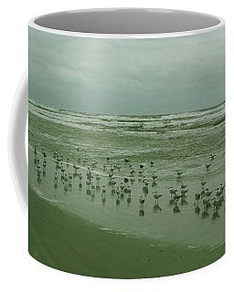 Coffee Mug featuring the photograph Facing The Wind by Donna Brown