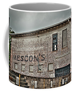 Faded Facade Coffee Mug