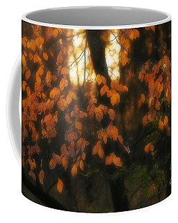 Coffee Mug featuring the photograph Fall Colours by Art Whitton