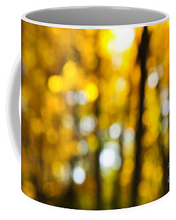 Fall Forest In Sunshine Coffee Mug