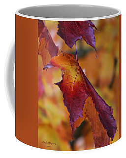 Fall Leaf Coffee Mug by Jeanette C Landstrom