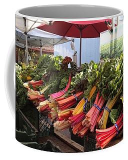 Coffee Mug featuring the photograph Farmer's Market by Lora Lee Chapman