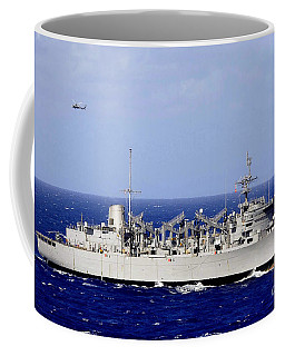 Fast Combat Support Ship Uss Camden Coffee Mug