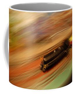 Fast Train Set Coffee Mug by Randy J Heath
