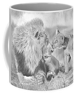 Father And Cub Coffee Mug
