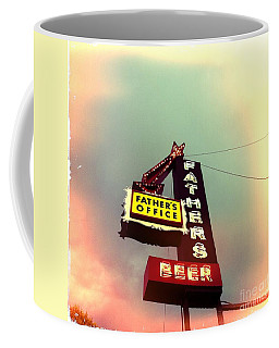 Father's Office Beer Coffee Mug by Nina Prommer