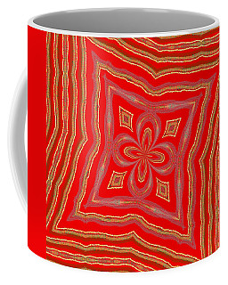 Coffee Mug featuring the digital art Favorite Red Pillow by Alec Drake