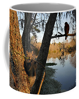 Coffee Mug featuring the photograph Feel Like Being Watched by Dan Friend