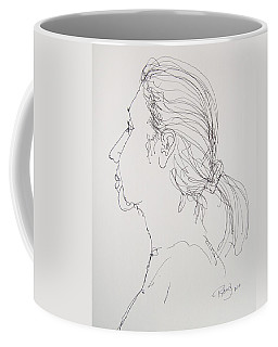 Female Portrait 05 Coffee Mug