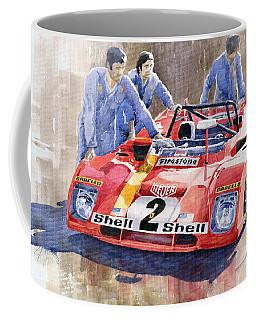 Ferrari 312 Pb 1972 Daytona 6-hour Winning Coffee Mug