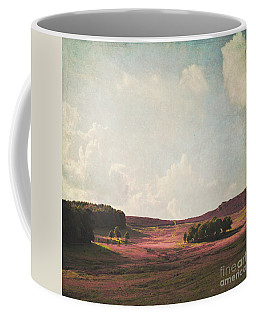 Fields Of Heather Coffee Mug by Lyn Randle
